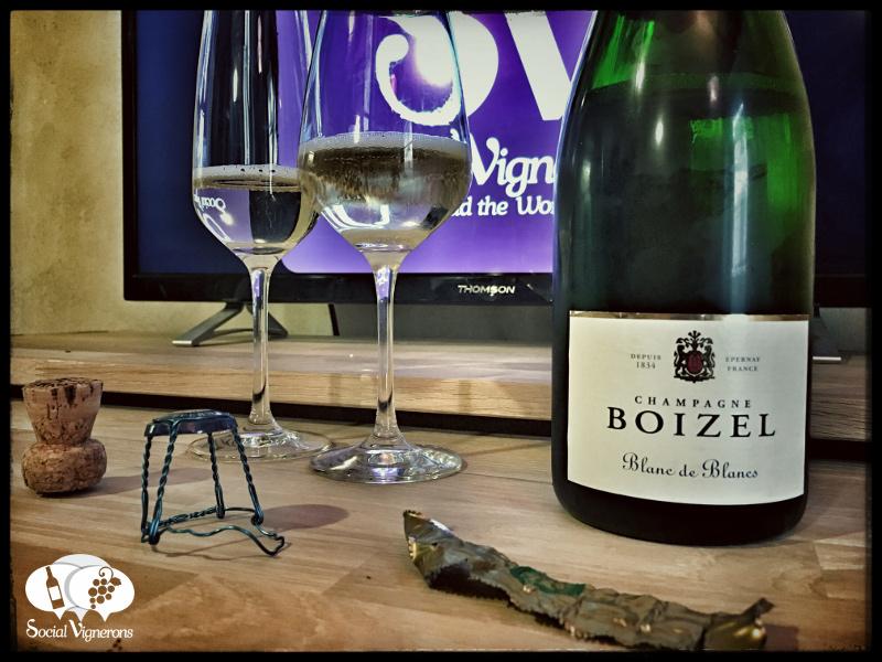 Champagne Boizel Blanc de Blancs : Complex & Extrovert !