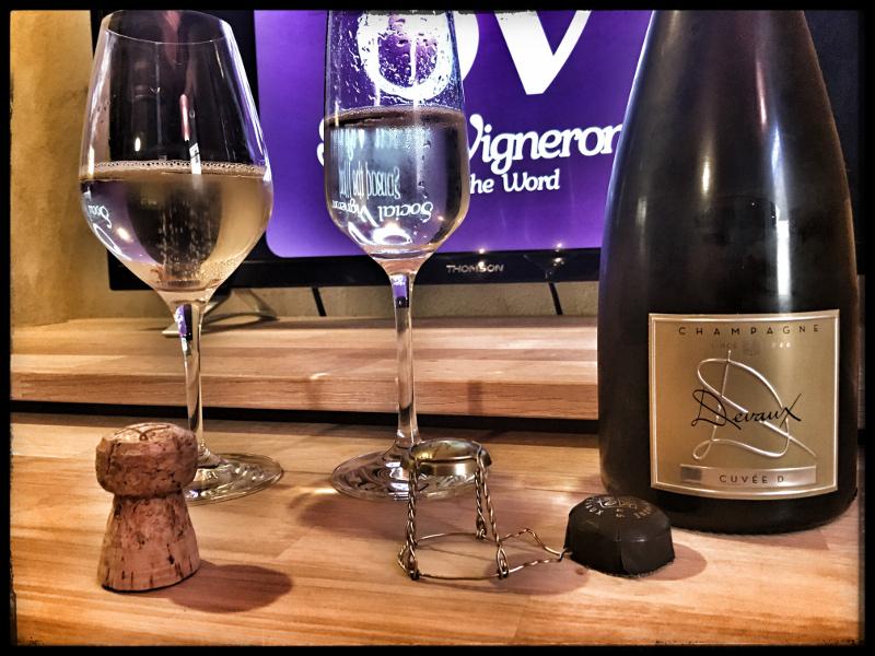 Champagne Devaux Cuvée D Brut: Fresh & Mineral!