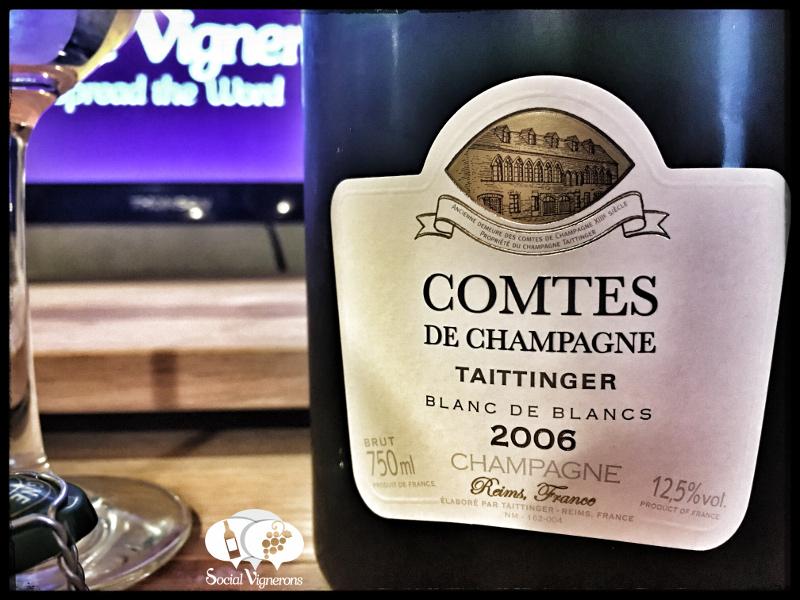 2006 Taittinger Comtes de Champagne Blanc de Blancs: Intense & Mineral!