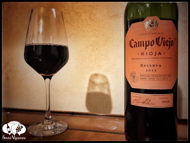 2012 Campo Viejo Reserva, Rioja