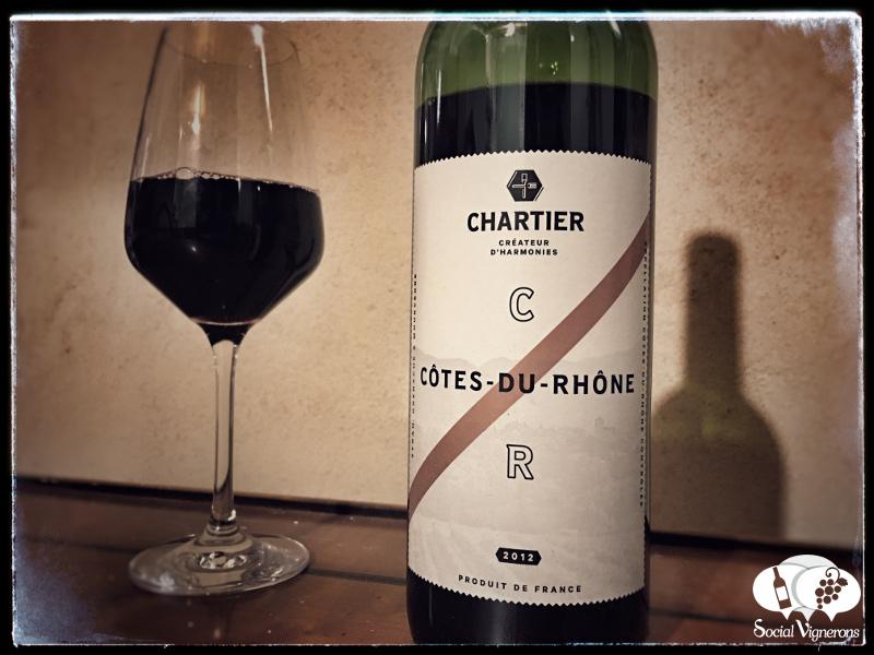 2012 François Chartier Côtes du Rhône Rouge, France