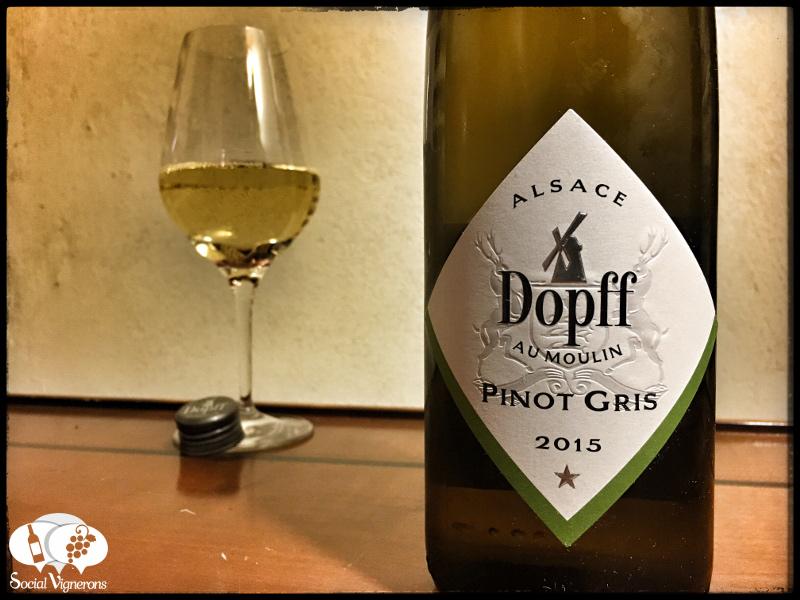 2015 Dopff au Moulin Pinot Gris Reserve, Alsace
