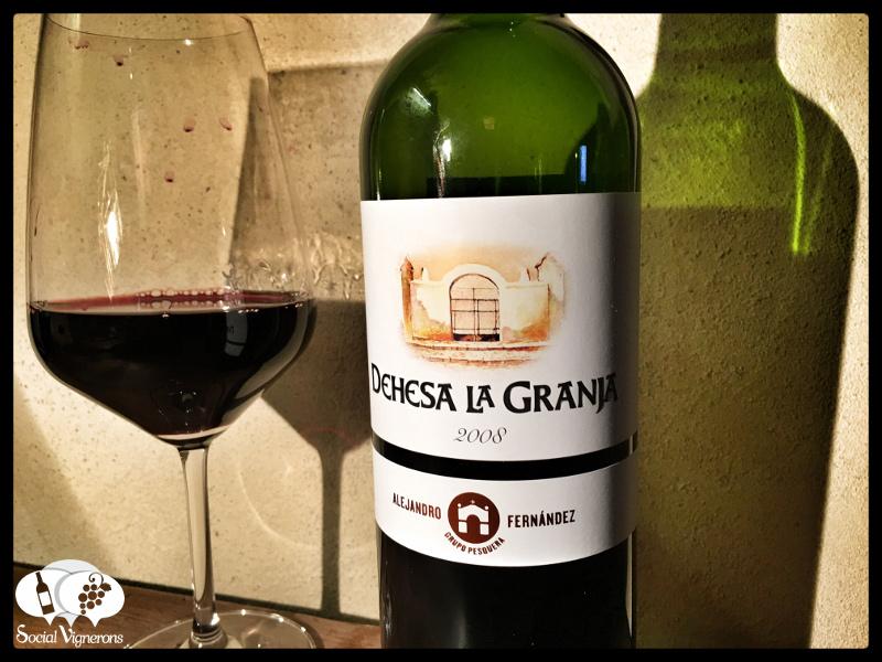 2008 Alejandro Fernandez Dehesa La Granja Tempranillo, Vino de la Tierra de Castilla
