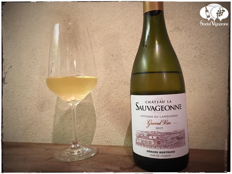 2015 Château La Sauvageonne Grand Vin Blanc, Côteaux du Languedoc, France