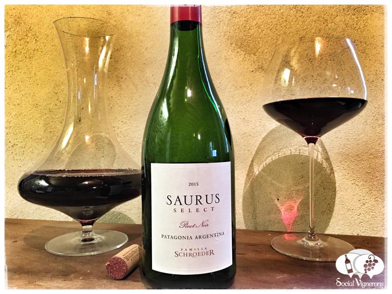 2015 Familia Schroeder Saurus Select Pinot Noir, Patagonia, Argentina