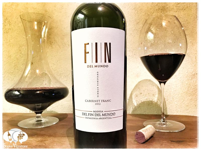 2012 Bodega Del Fin del Mundo Single Vineyard Cabernet Franc, Patagonia, Argentina