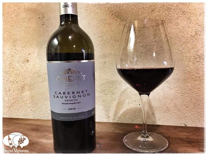 2012 OnePiò Winery Cabernet Sauvignon Veneto IGT, Italy