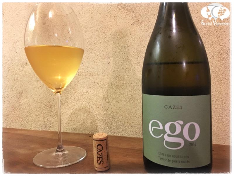 2016 Maison Cazes 'Ego' Côtes du Roussillon Blanc, France
