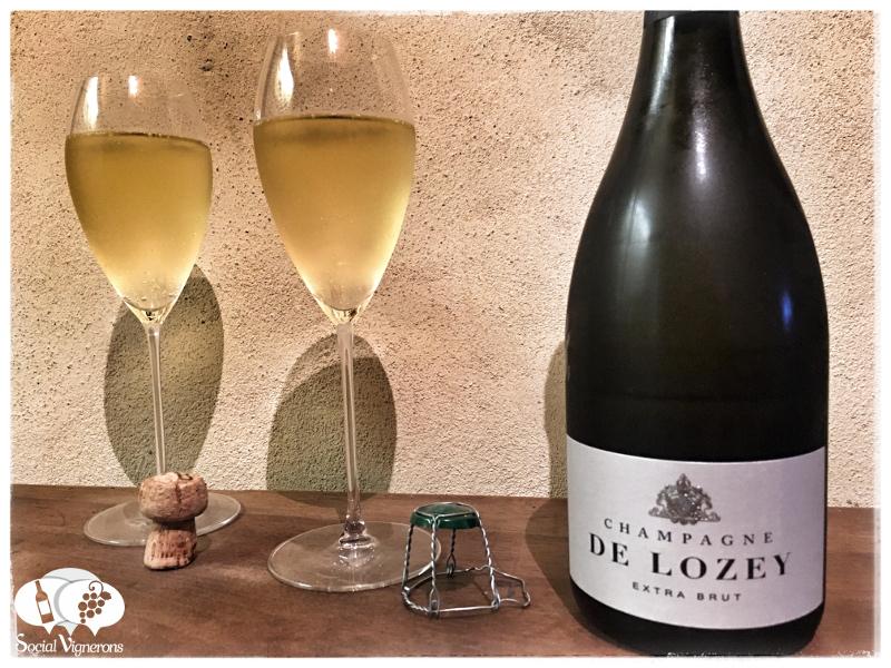 De Lozey Extra Brut Champagne, France