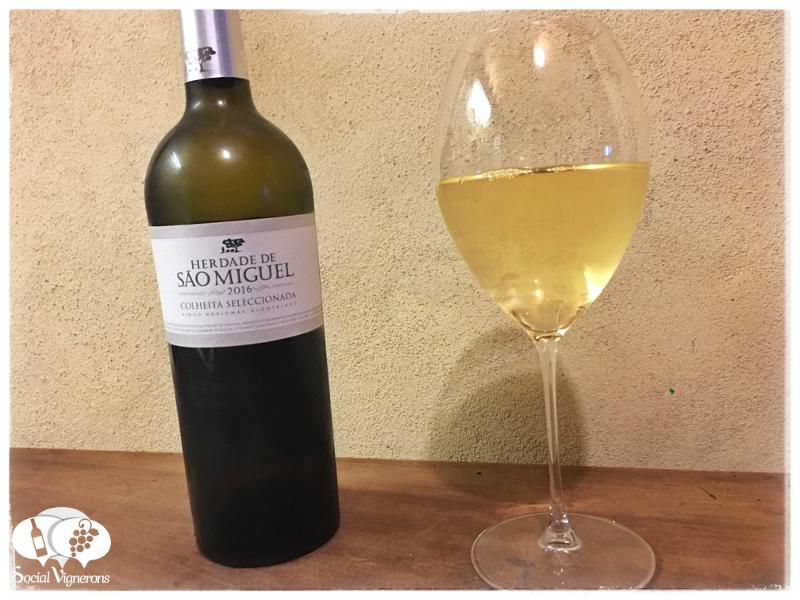 2016 Casa Agrícola Alexandre Relvas Heredade de São Miguel Colheita Seleccionada Branco, Vinho Regional Alentejano, Portugal