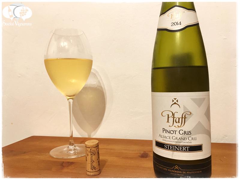 2014 Pfaff Pinot Gris Steinert Grand Cru, Alsace
