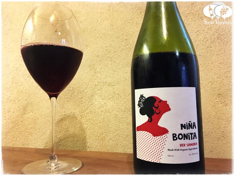 Bodegas Iranzo Niña Bonita Organic Red Spanish Sangria, Valencia
