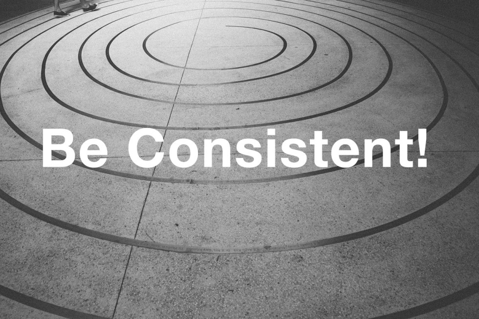 be consistent in 2015