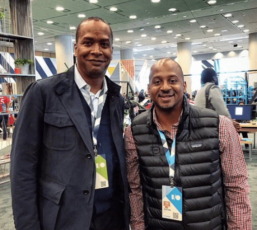 Great catching up with David Drummond at #io15 @google #diversityio15