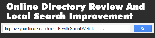 Online Directory Review And Local Search Improvement - Virginia SEO