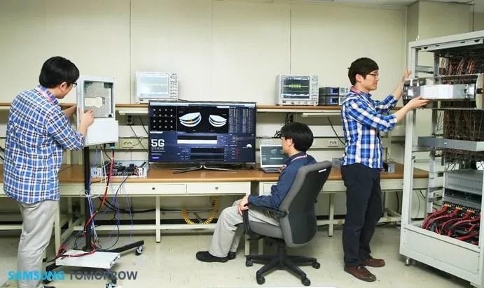 Samsung Team Makes Technology Breakthrough in 5G Mobile