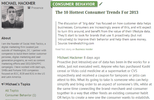 Meddle - Hackmer On Hottest Consumer Trends 2013