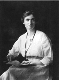 Edith Abbott as a Young Woman