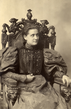 Jane Addams as a young woman
