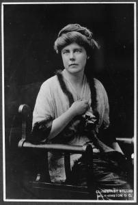 Lucy Burns, Vice Chairman Congressional Union, 1913