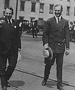 Cox and Roosevelt in Ohio, 1920.