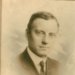 L.A. Halbert as a Young Man