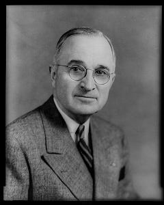 Harry Truman, 33rd President of the United States