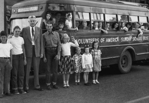 """In the '30s, Volunteers of America's """"Fresh Air"""" camps offered in-need children the opportunity to see the wonders of nature"""