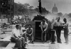 Veterans Occupy D.C. 1932