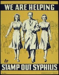 We Are Helping to Stamp out Syphilis