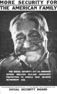 Poster for Social Security 'Retirement Program'