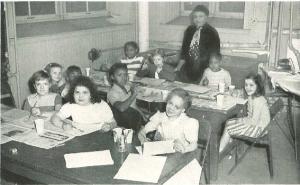 A Classroom at the Baden Street Settlement