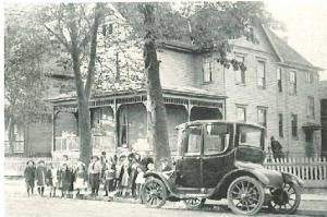 Baden St. Children and Early Ford
