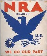 NRA (National Recovery Administration) member: We Do Our Part