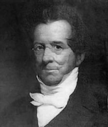Thomas H. Gallaudet, Painting by George F. Wright in 1851.