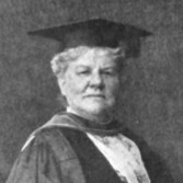 Louisa Lee Schuyler, while receiving an honorary degree at Columbia University in 1915