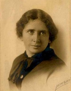 Pre-1916 photo of American social activist Rose Schneidermann