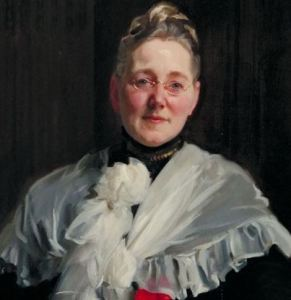 Mary Elizabeth Garrett, portrait painted by John Singer Sargent