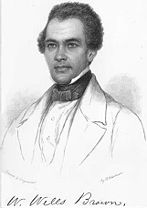 Drawing of William Wells Brown (1814-1884)