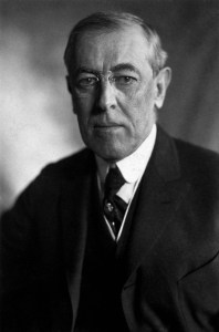 Photograph of President Woodrow Wilson