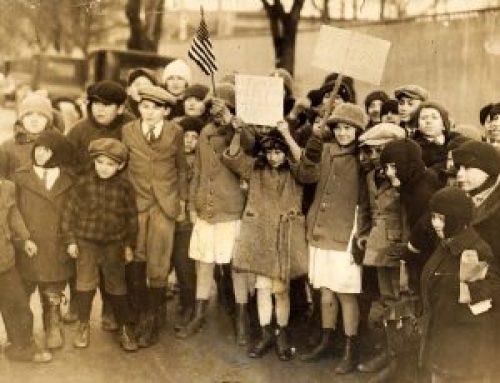 Child strikers, Passaic Textile Strike, 1926