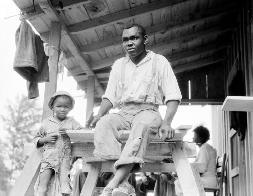 Evicted Arkansas sharecropper and active STFU member, 1936