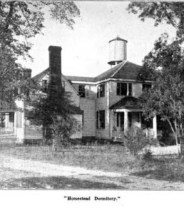 Dormitory at Virginia Home and Industrial School for Girls
