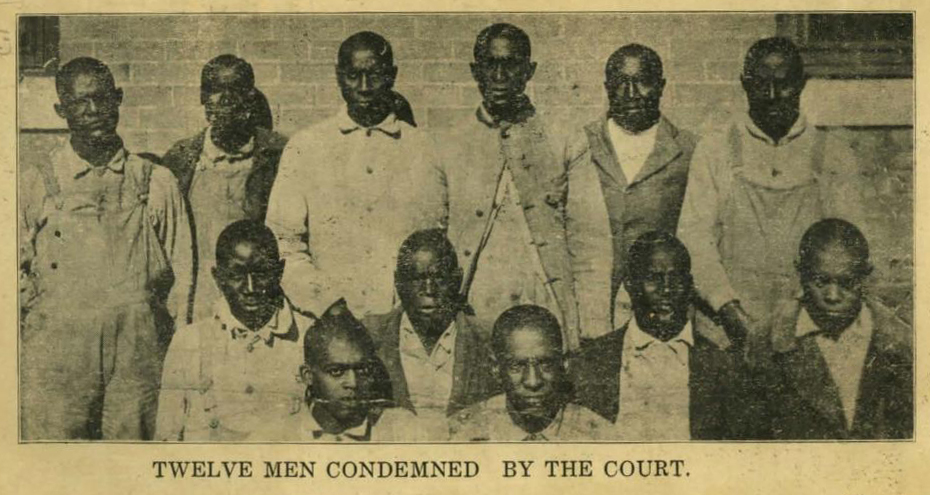 Twelve Men Condemned by the Court