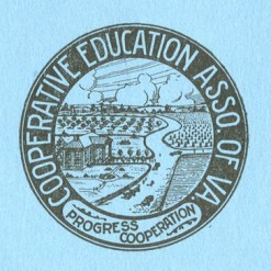 Seal of the Cooperative Education Association of VA