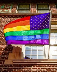 Capital Pride flag by Ted Eytan via Flickr