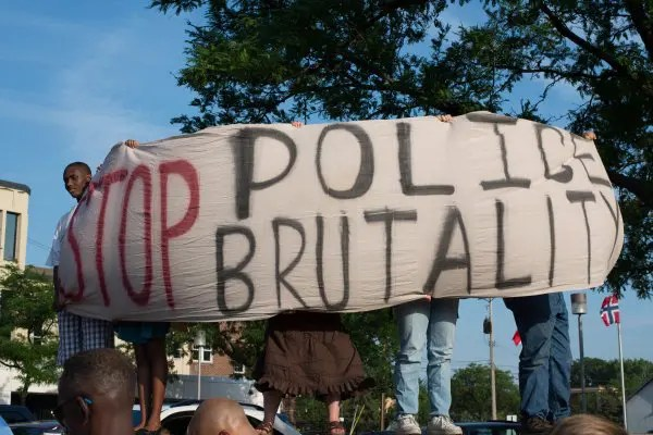 how to connect police brutality to a lesson before dying