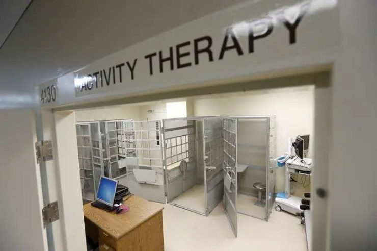 An activity therapy room is seen at the Psychiatric Inpatient Program at San Quentin State Prison in San Quentin, California in December 2015. Credit: Stephen Lam