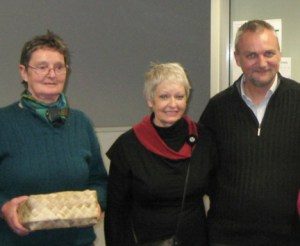 ANZASW farewell for Rory with Lucy Sandford-Reid and Rose Henderson.