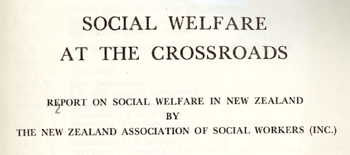 Social Welfare at the Crossroads